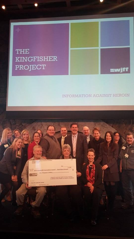 The Kingfisher Project at WJFF has been named the winner of the 2015 Innovation Award at the Nonprofit Leadership Summit at Bethel Woods.